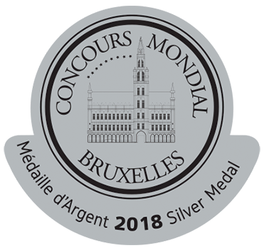 Medalla de Plata Concours Mondial Bruxelles